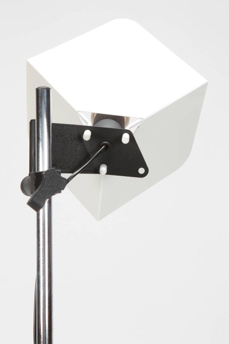 "Joe Colombo ""Triedro"" Floor Lamp Stilnovo, 1970s For Sale 6"
