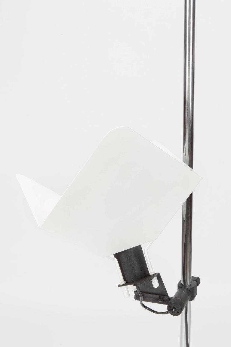 "Joe Colombo ""Triedro"" Floor Lamp Stilnovo, 1970s For Sale 12"