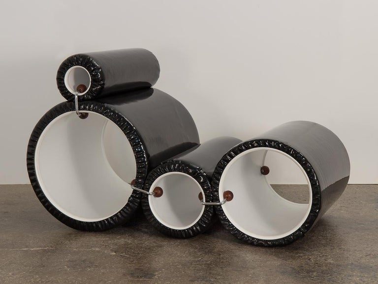 Post-Modern Joe Colombo Tube Chair For Sale