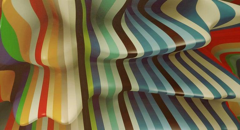 Striped Candy, 38x50, Canvas - Print by Joe Doyle and Diane Rosenblum