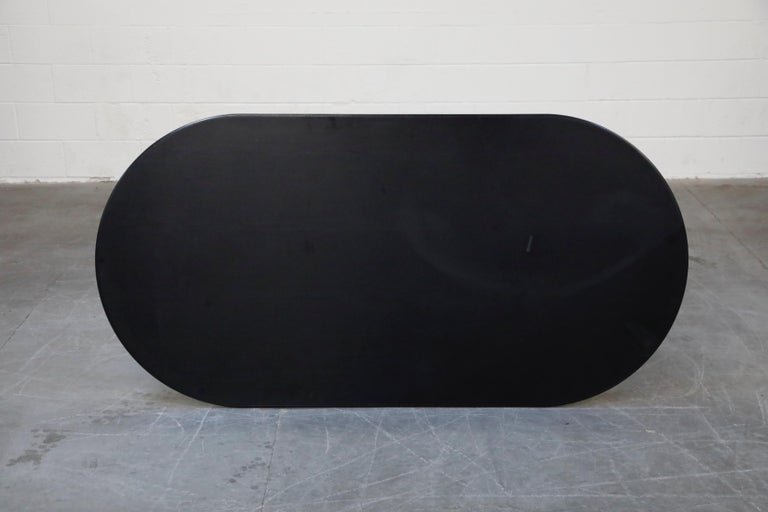 Joe D'Urso for Knoll International 'High Table' Dining/Work Table, Signed, 1980 For Sale 6