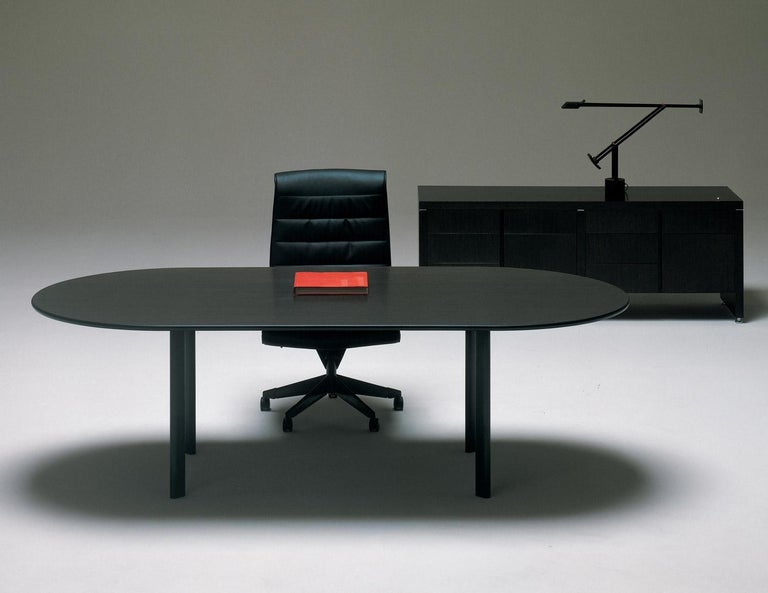 Joe D'Urso for Knoll International 'High Table' Dining/Work Table, Signed, 1980 For Sale 9