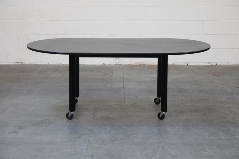 American Joe D'Urso for Knoll International 'High Table' Dining/Work Table, Signed, 1980 For Sale