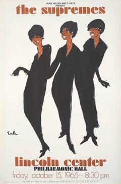 The Supremes by Joe Eula, 1960s Motown