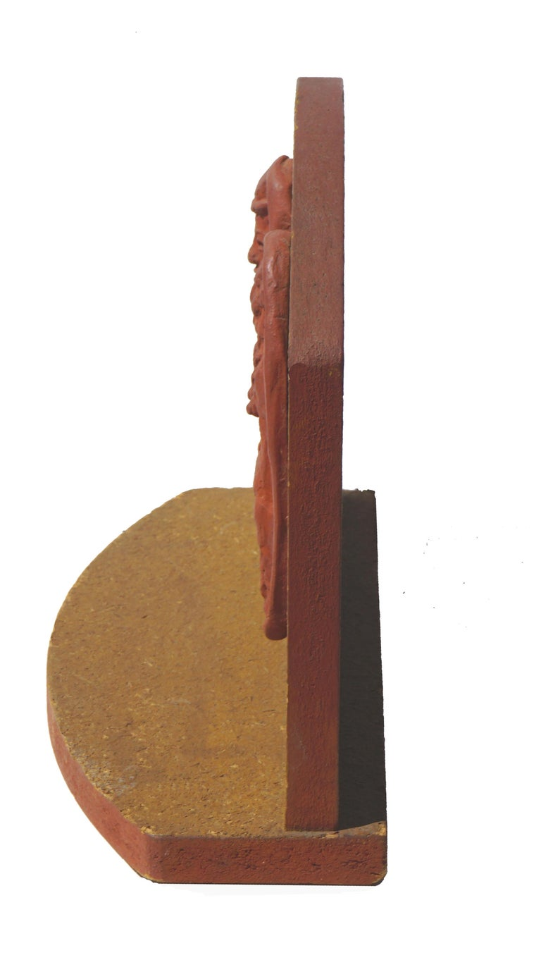 Abstracted Nude Couple Figurative Relief For Sale 2