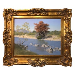 Joe G. Russell '1926-2008' Painting