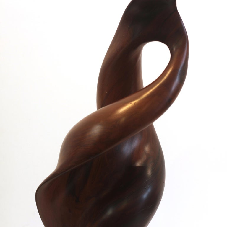 Out of the Woods - Brown Abstract Sculpture by Joe Garnero