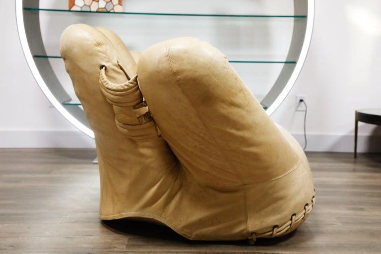 Late 20th Century 'Joe' Lounge Chair by De Pas, D'Urbino, Lomazzi for Poltronova, 1970s, Signed For Sale