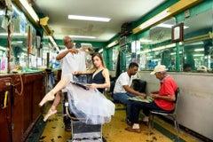 Ballerina in the Barbershop