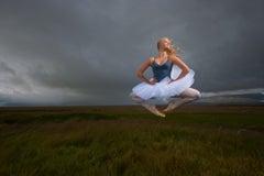 Ballerina in the Icelandic Fields