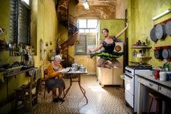 Ballerina in the Kitchen, Havana, Cuba