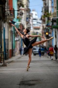 Ballerina in the Street Havana Cuba