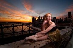 Ballerina on the Brooklyn Bridge