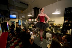 Ballerina on the Lunch Counter