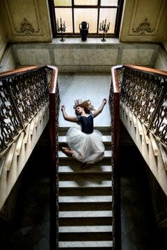 Ballerina on the Staircase
