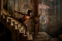 Dancer on Staircase