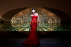Fashion at Nighttime The Egg, Downtown Beijing