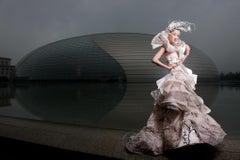Pre-dawn Fashion at The Egg, Downtown Beijing