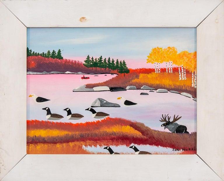 Seascape - Painting by Joe Norris