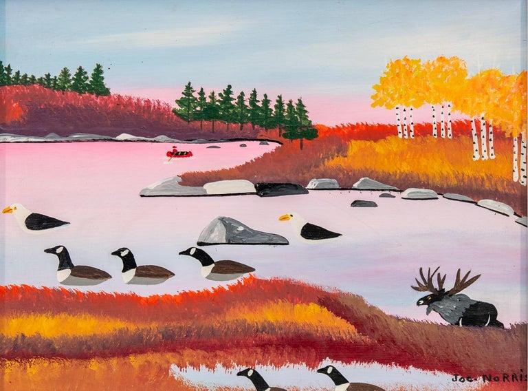 Joe Norris Landscape Painting - Seascape