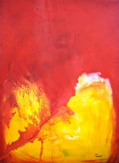 Contemporary Abstract Painting 30 x 40 inches, Painting, Acrylic on Canvas