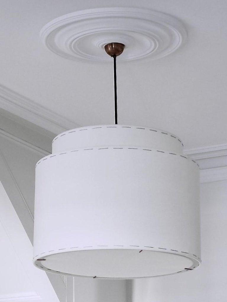Bronzed Joe Pendant Lamp 640 by Wende Reid For Sale