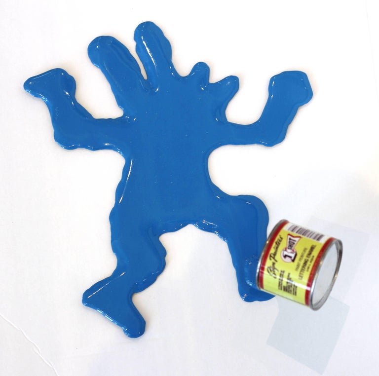 Happy Accident Series - Keith Haring Dancing Dog Man For Sale 2