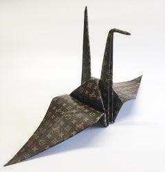 """""""Trompe l'oeil Series - Origami Crane LV"""""""