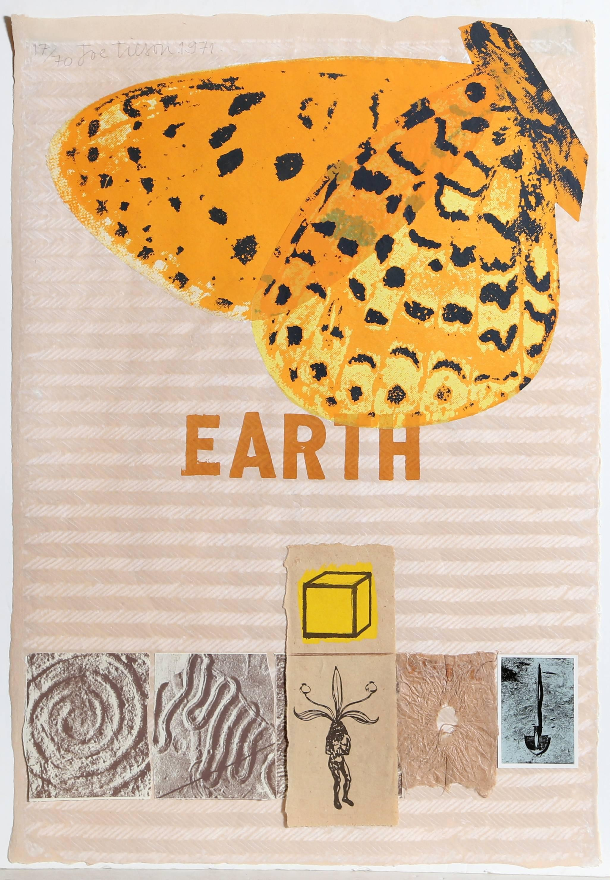 Earth (with Butterfly)
