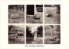 Six Mark Stones - Original Erching by Joe Tilson - 1976