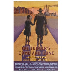 """""""Joe Turner's Come and Gone"""" R2009 U.S. Window Card Theatre Poster"""
