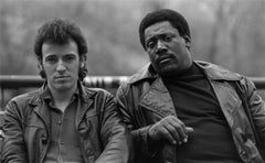 Bruce Springsteen and Clarence Clemons, Central Park South, NYC 1980