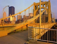6th Street Bridge, Pittsburgh, PA, Photograph, Archival Ink Jet