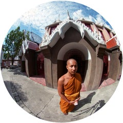 Buddhist Monk, Bangkok, Photograph, Archival Ink Jet