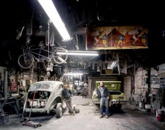 West End Garage, Pittsburgh, PA, Photograph, Archival Ink Jet