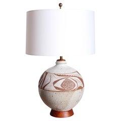 Joel Edwards Studio Ceramic Lamp