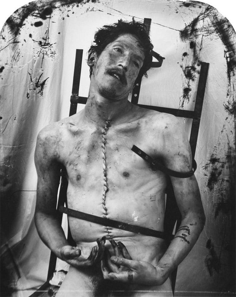 Joel-Peter Witkin Portrait Photograph - Glassman