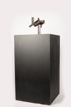Joel Shapiro Untitled  (2001 - 2005) Bronze