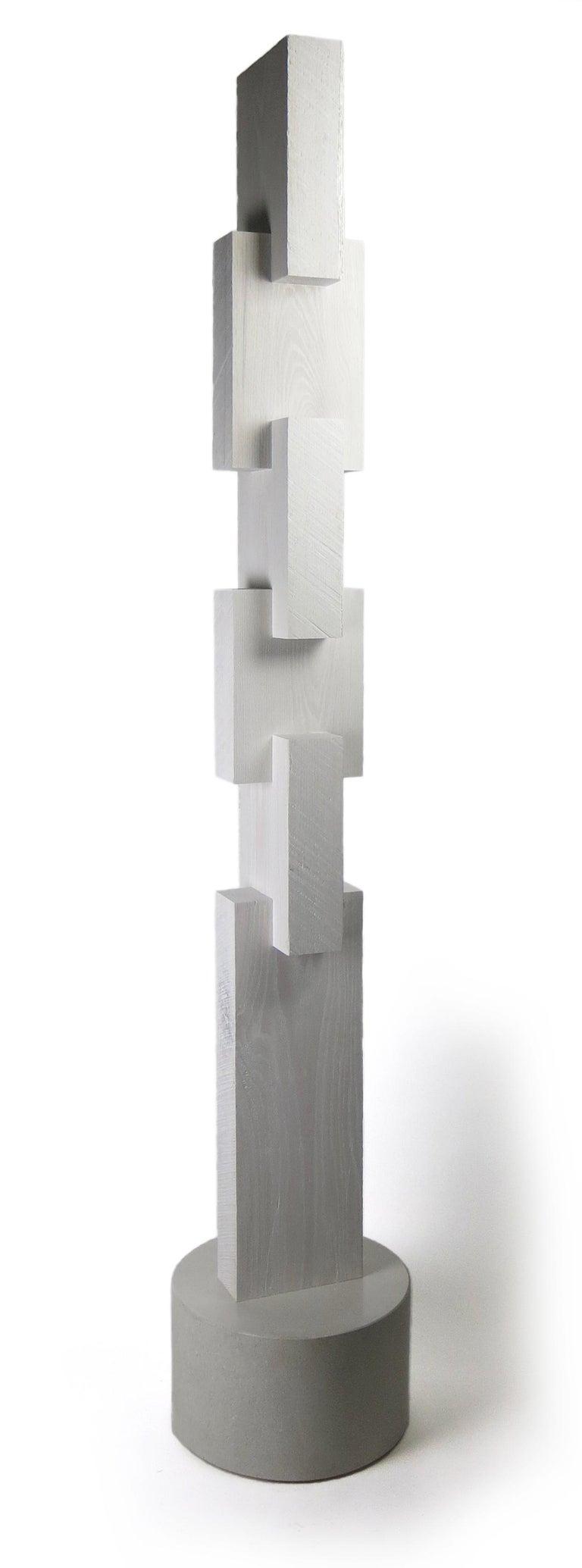 Joel Urruty Still-Life Sculpture - White Tower