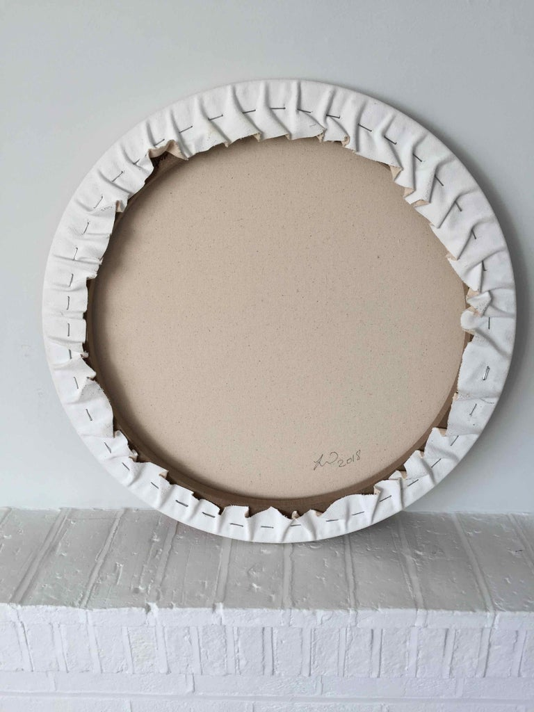 Gateway: Round Perspective Drawing/Painting about Imaginary Spaces For Sale 2