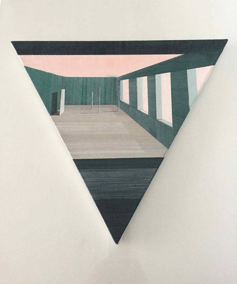 Intro: Perspective Drawing/Painting about Imaginary Spaces by Joella Wheatley For Sale 1