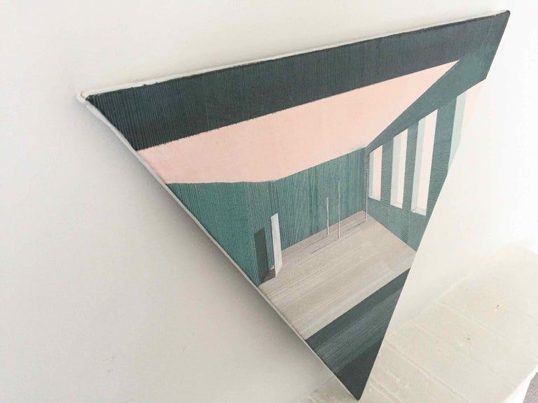 Intro: Perspective Drawing/Painting about Imaginary Spaces by Joella Wheatley For Sale 3