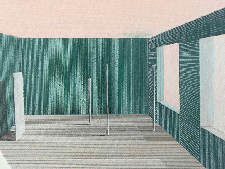 Intro: Perspective Drawing/Painting about Imaginary Spaces by Joella Wheatley For Sale 5