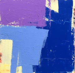 Blue Wins, Abstract Painting
