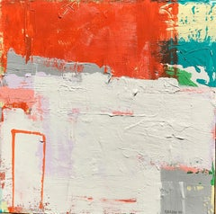 Tall Box (#1 in Box series), Abstract Painting