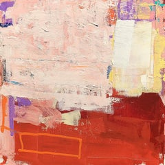 Tired Box (#2 in Box series), Abstract Painting