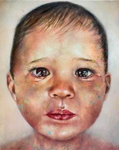 Child' original canvas painting
