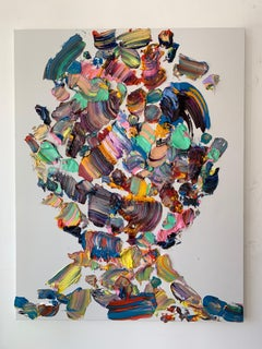 Portrait' original canvas painting