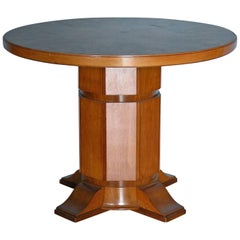 Johan Gudmann Rohde, Table with Centre Pillar, Origin: Denmark, Circa 1900-1920