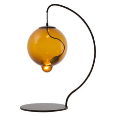 Johan Lindstèn Meltdown Table Lamp in Glass and Iron for Cappellini